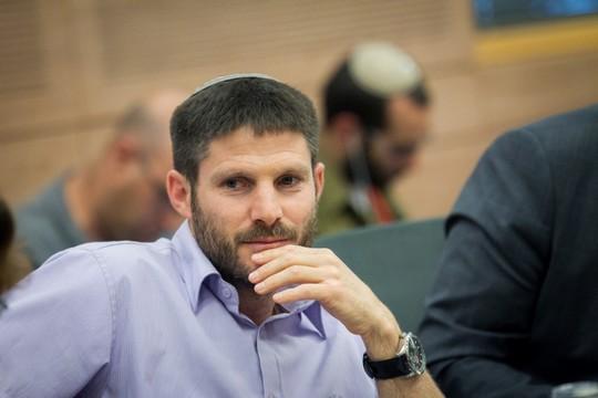 ממשיך לכלוא פלסטינים. בצלאל סמוטריץ', ממשיך החוק אותו יזם ינון מגל (מרים אלסטר / פלאש90)