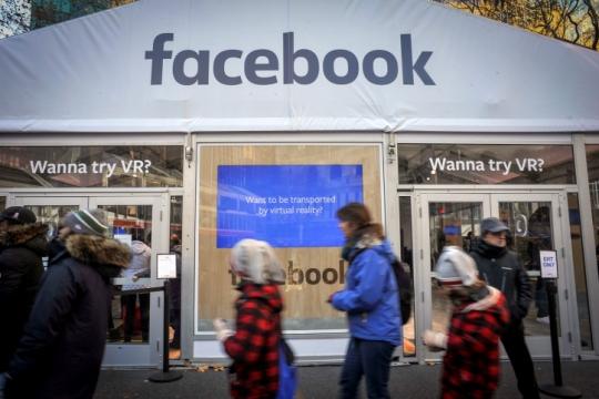 פייסבוק, הנכבה של עולם הממשי (פלאש90)