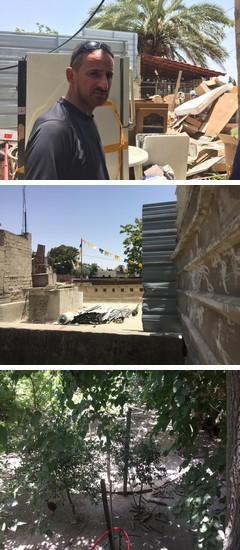 המתחם של משפחת סיאם בסילוואן לאחר הפינוי (מירון רפופורט)