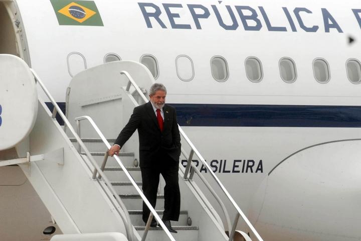 נשיא ברזיל לשעבר, לולה דה סילבה, ב-2006 (צילום: Marcello Casal Jr/ABr) (צילום:
