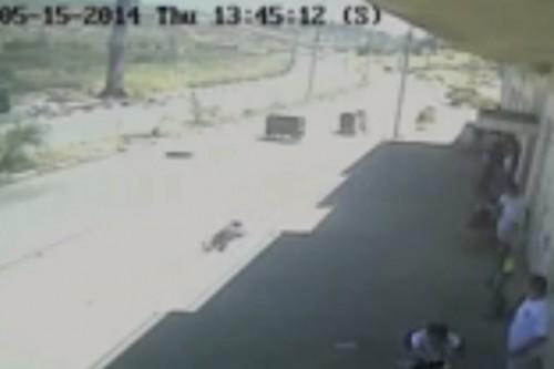 צפו: הירי ממנו נהרגו הנערים הפלסטינים ביום הנכבה בביתוניא