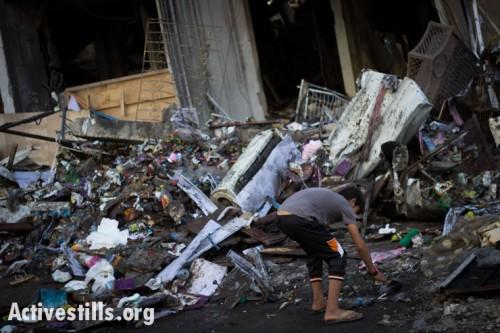 תמונות השבוע: אש על עזה, רקטות על ישראל