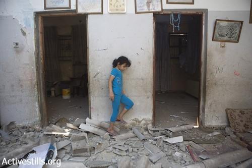 דיווח בתמונות: יום בעזה בין בתים שהופצצו, הרס ועקירה