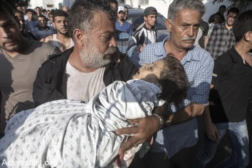 מוות והרס במחנה הפליטים אל שאטי