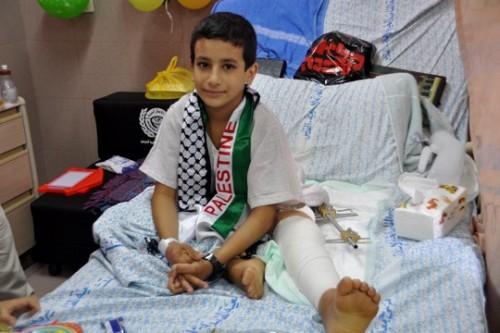 פצועים מעזה מאושפזים במזרח ירושלים: שהעולם יבין מה קורה בעזה ויעזור