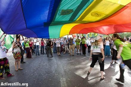 מצעד גאווה בירושלים, 2008 י(ותם רונן / אקטיבסטילס)