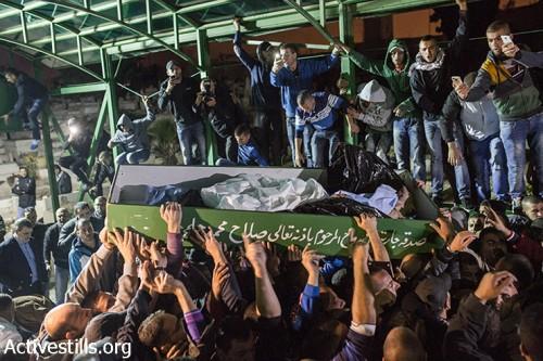 למרות הגבלות המשטרה מאות בהלווית החשוד בירי ביהודה גליק