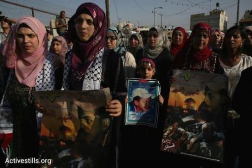 הצעדה לציון שנה למותו של מוחמד אבו-ח'דיר בירושלים המזרחית (אורן זיו/אקטיבסטילס)