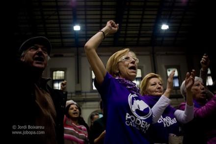 פודמוס, חגיגות בעקבות הבחירות (Jordi Boixareu CC BY-NC-ND 2.0)
