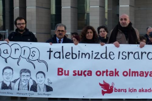 אקדמאים ישראלים בביקור סולידריות עם עמיתיהם התורכים העומדים למשפט