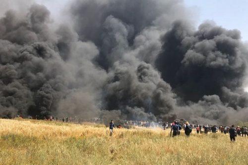 """תשעה מפגינים נהרגו ומאות נפצעו בצעדת השיבה: """"מרגישים שאין מה להפסיד"""""""