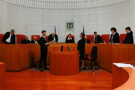 """דיון בבג""""ץ נגד חוק הסדרה. (יונתן זינדל / פלאש 90)"""