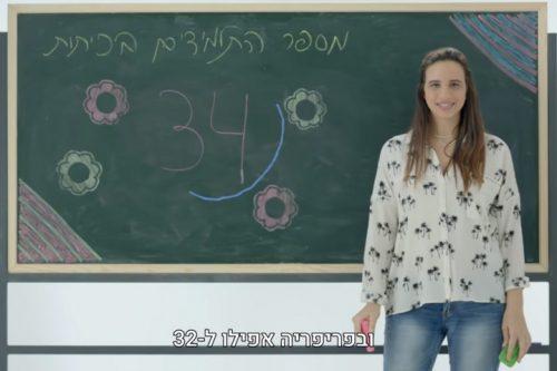 (צילום מסך מתוך סרטון משרד החינוך)