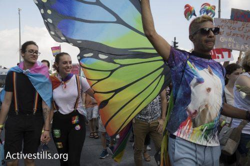 בכל צבעי הקשת: מצעד הגאווה הענק בירושלים בתמונות