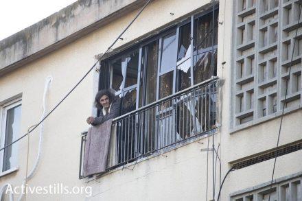 הרקטות שפגעו בדרום הן מינוריות כי לא פגעו בתל אביב. הבית שנפגע באשקלון (אורן זיו/אקטיבסטילס)