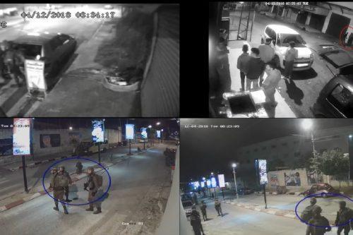 """תיעוד הריגתו של מוחמד חבאלי בן ה-22 בטול כרם. צילום מסך מתוך סרטון """"בצלם"""""""