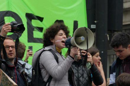 """""""אני לא חושבת שאנחנו מפחדות משינוי האקלים יותר, אבל כמו כל דבר שקורה הוא קודם כל ישפיע על נשים"""". נוגה לוי רפופורט (צילום: Hayley Samuel)"""