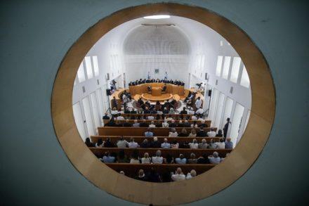 """ההתקפות על בג""""ץ עלולות לפגוע בכוחו להגן על הציבור. אולם דיונים בבית המשפט העליון (צילום: הדס פרוש / פלאש 90)"""