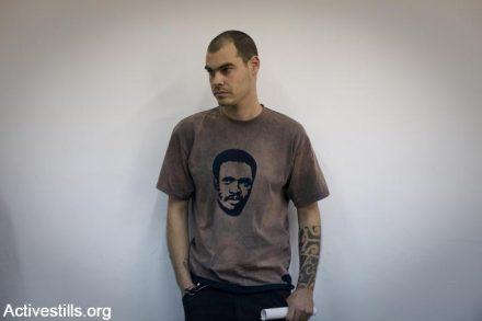 יונתן פולק, פעיל מוכר נגד הכיבוש, הותקף על ידי אלמונים בדרום תל אביב. (צילום: אורן זיו / אקטיבסטילס)