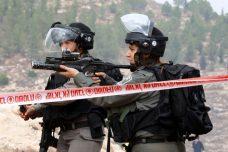 """שוטרי מג""""ב ירו כדור חי לעבר מפגינים, ועיתונאי פלסטיני איבד את עינו"""