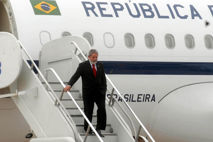 נשיא ברזיל לשעבר, לולה דה סילבה, ב-2006 (צילום: Marcello Casal Jr/ABr)